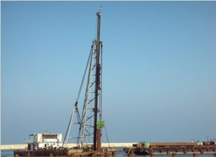 2010年5月14日我司海外承包的黎巴嫩Tripoli港项目正式开工