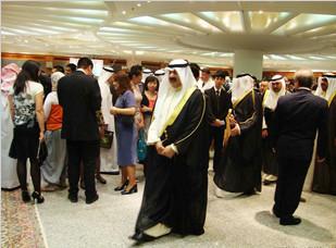 我司科威特项目领导应邀参加中国驻科威特大使馆举行的国庆招待会